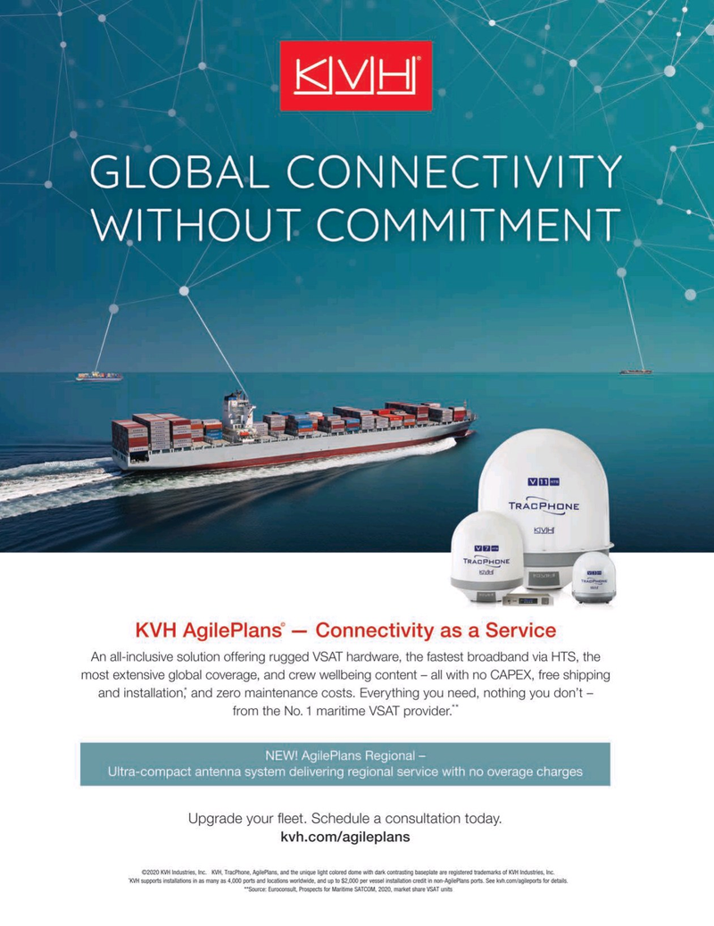 Maritime Reporter Magazine, page 2nd Cover,  Sep 2020