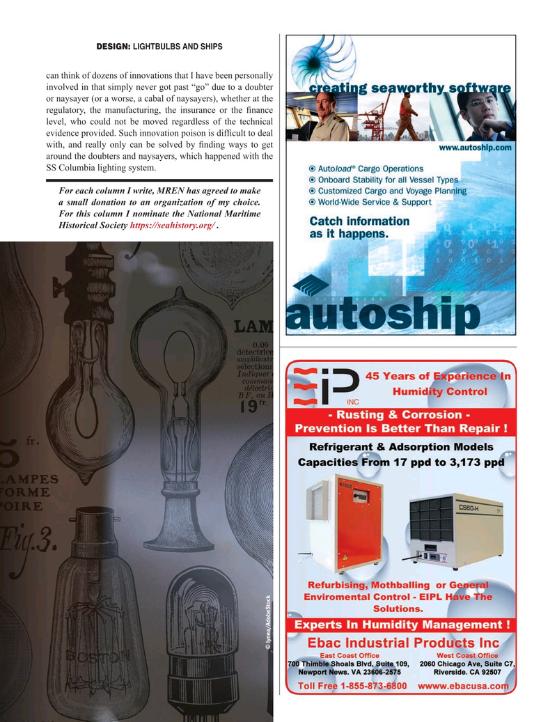 Maritime Reporter Magazine, page 25,  Sep 2020