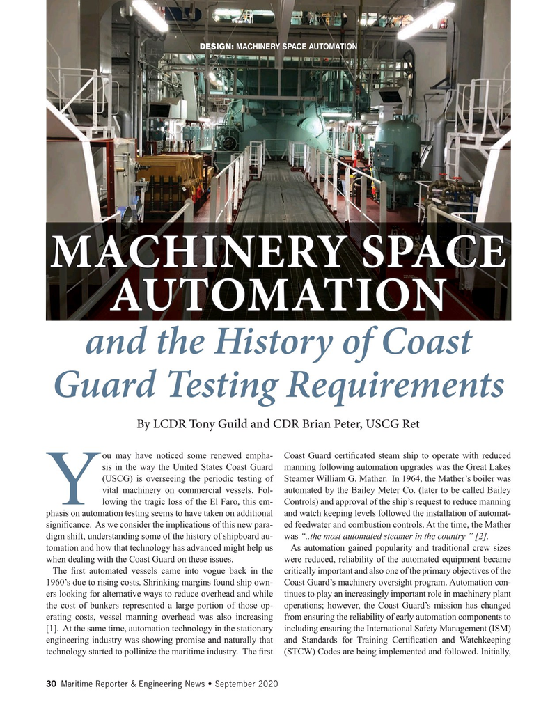 Maritime Reporter Magazine, page 30,  Sep 2020