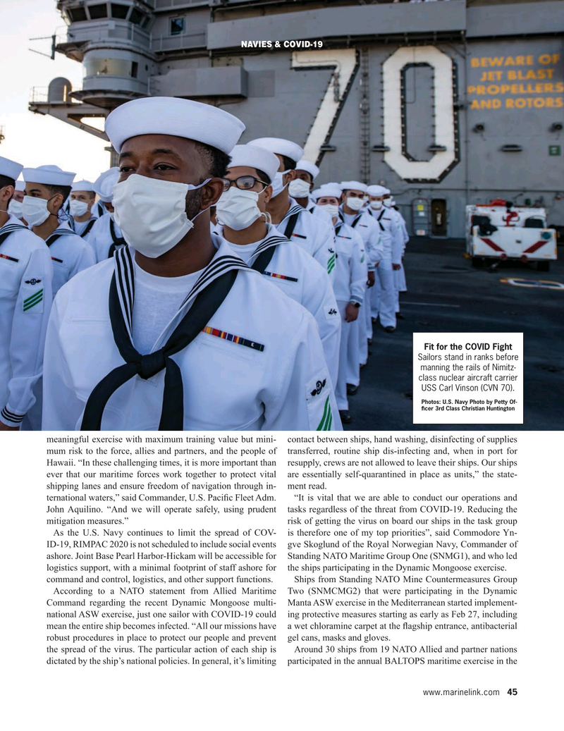 Maritime Reporter Magazine, page 45,  Sep 2020