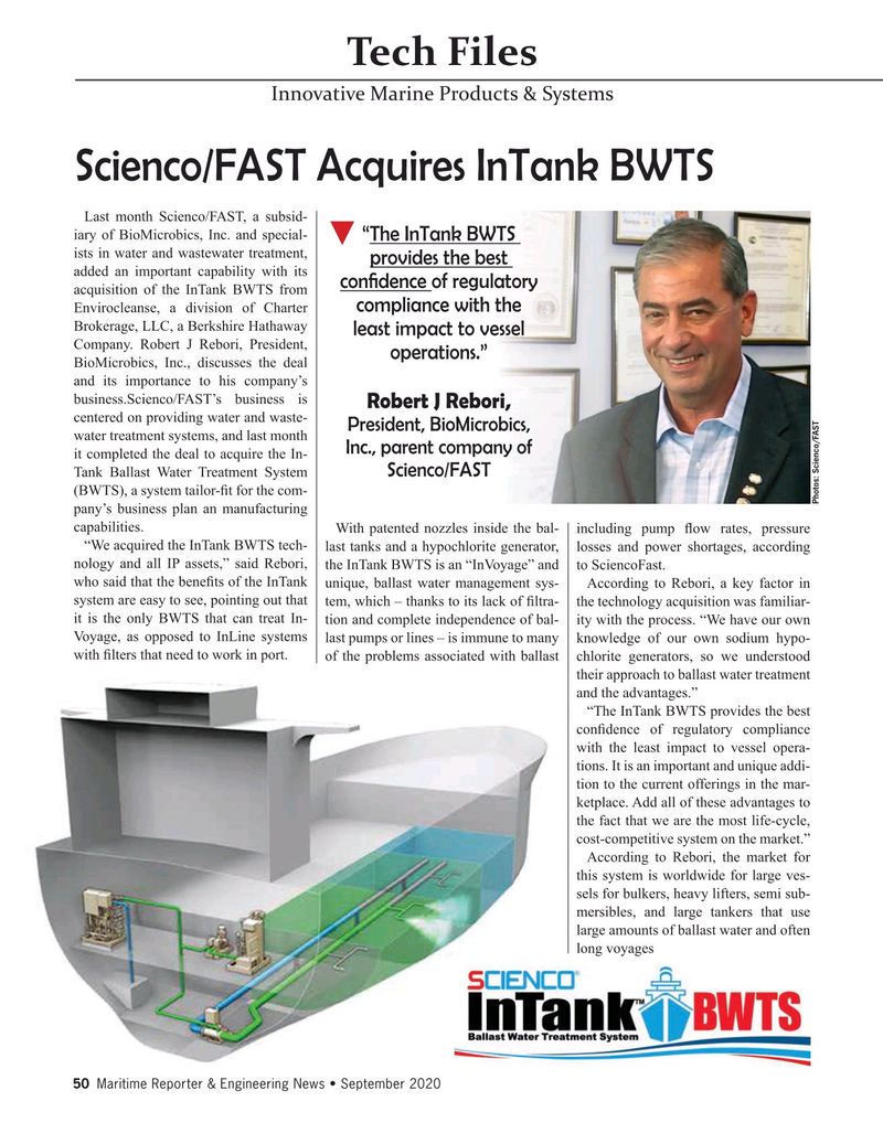 Maritime Reporter Magazine, page 50,  Sep 2020