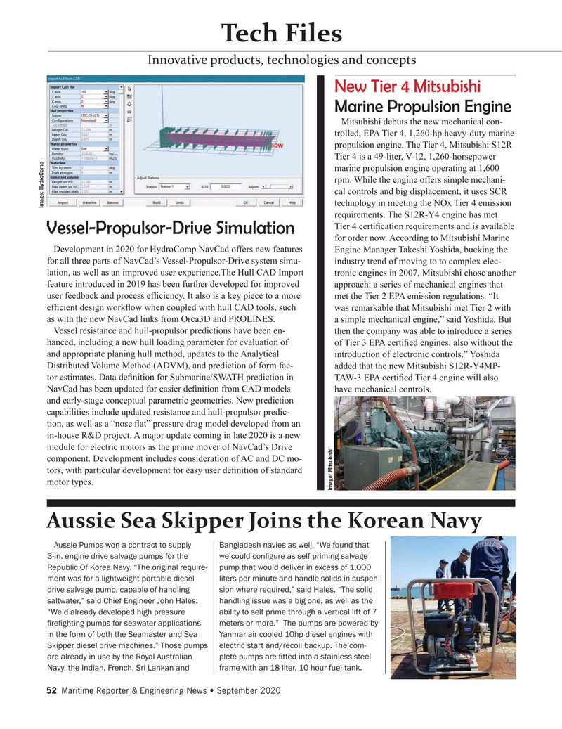 Maritime Reporter Magazine, page 52,  Sep 2020