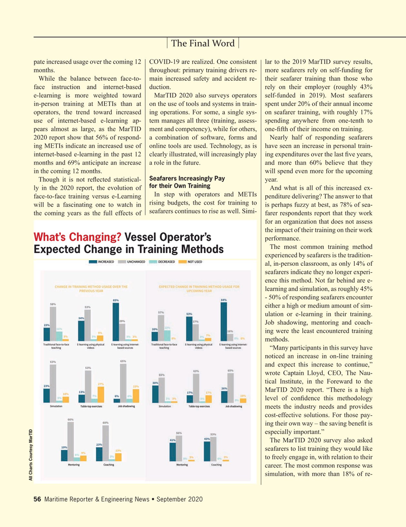 Maritime Reporter Magazine, page 56,  Sep 2020
