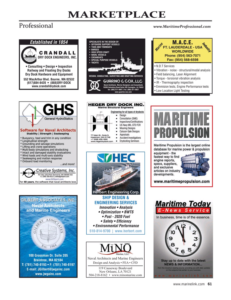 Maritime Reporter Magazine, page 61,  Sep 2020