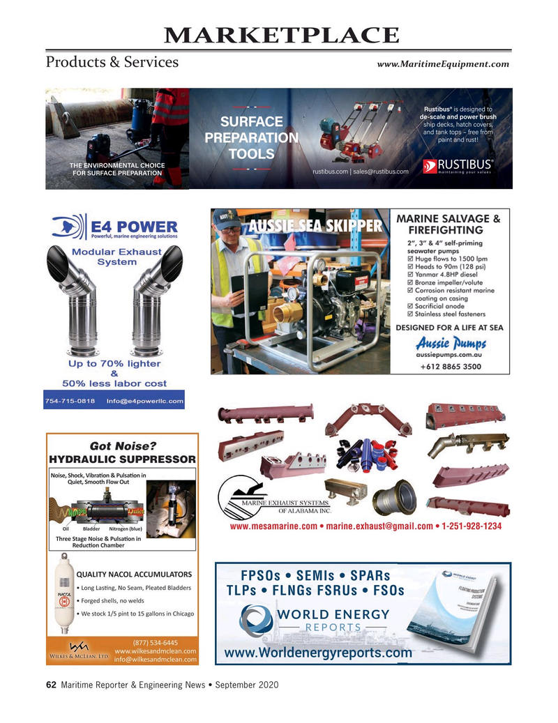 Maritime Reporter Magazine, page 62,  Sep 2020