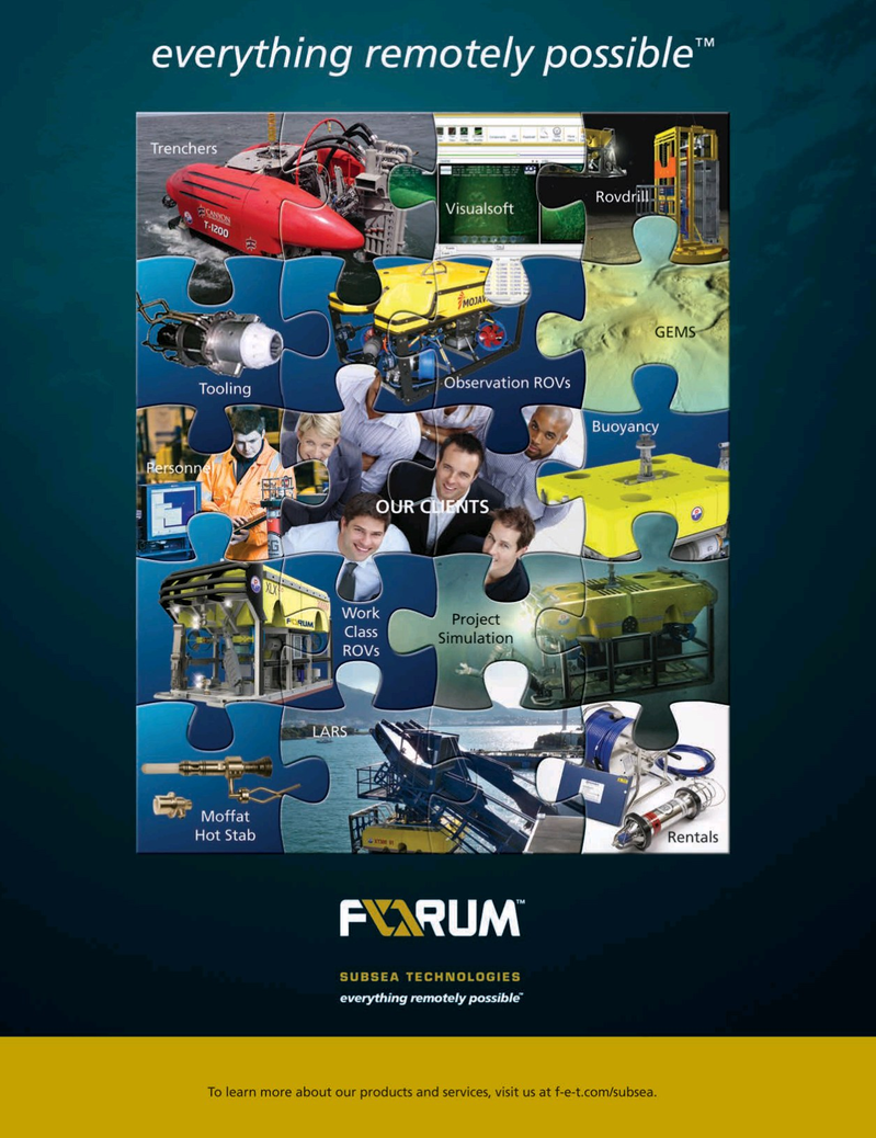 Offshore Energy Reporter Magazine, page 4,  Jan 2015