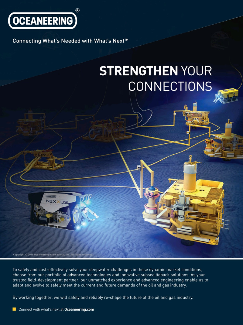 Offshore Engineer Magazine, page 4th Cover,  Jan 2018