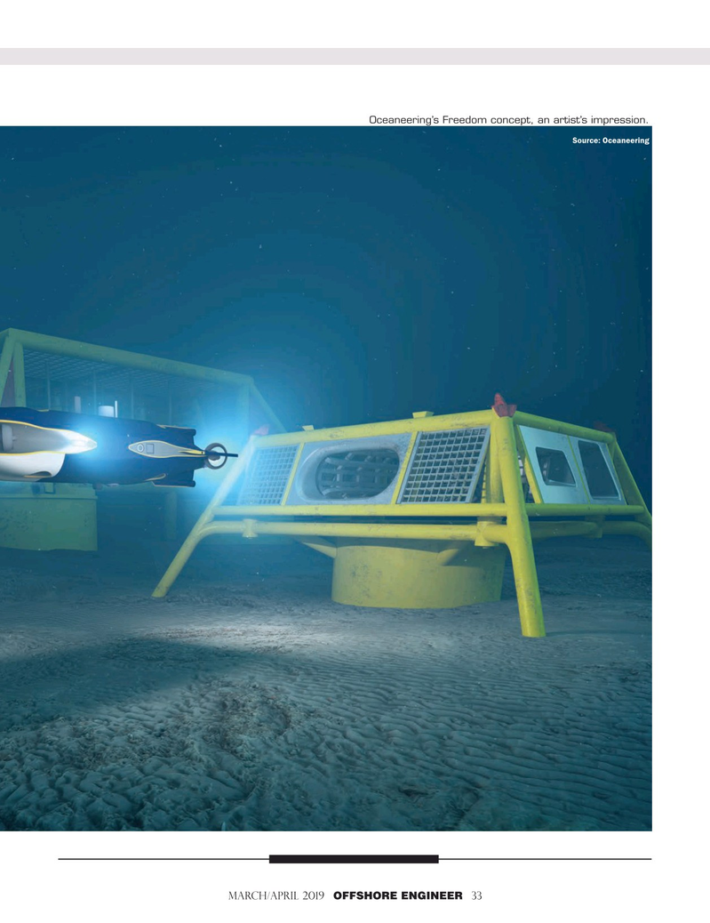 Offshore Engineer Magazine, page 33,  Mar 2019