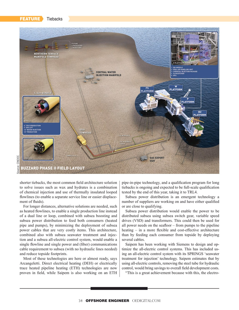 Offshore Engineer Magazine, page 34,  May 2019