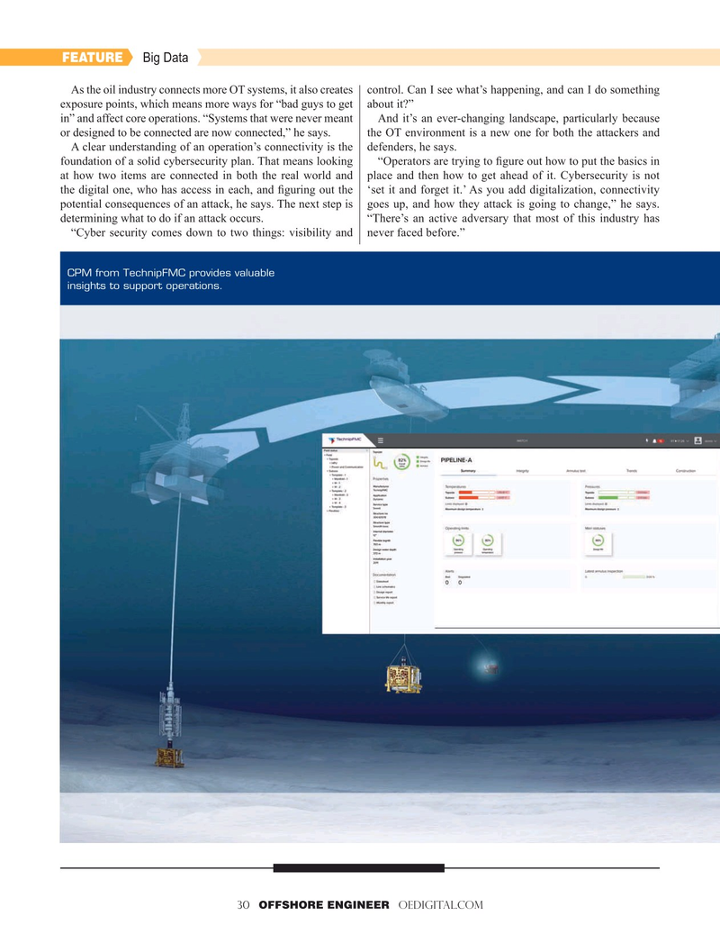 Offshore Engineer Magazine, page 30,  Sep 2019