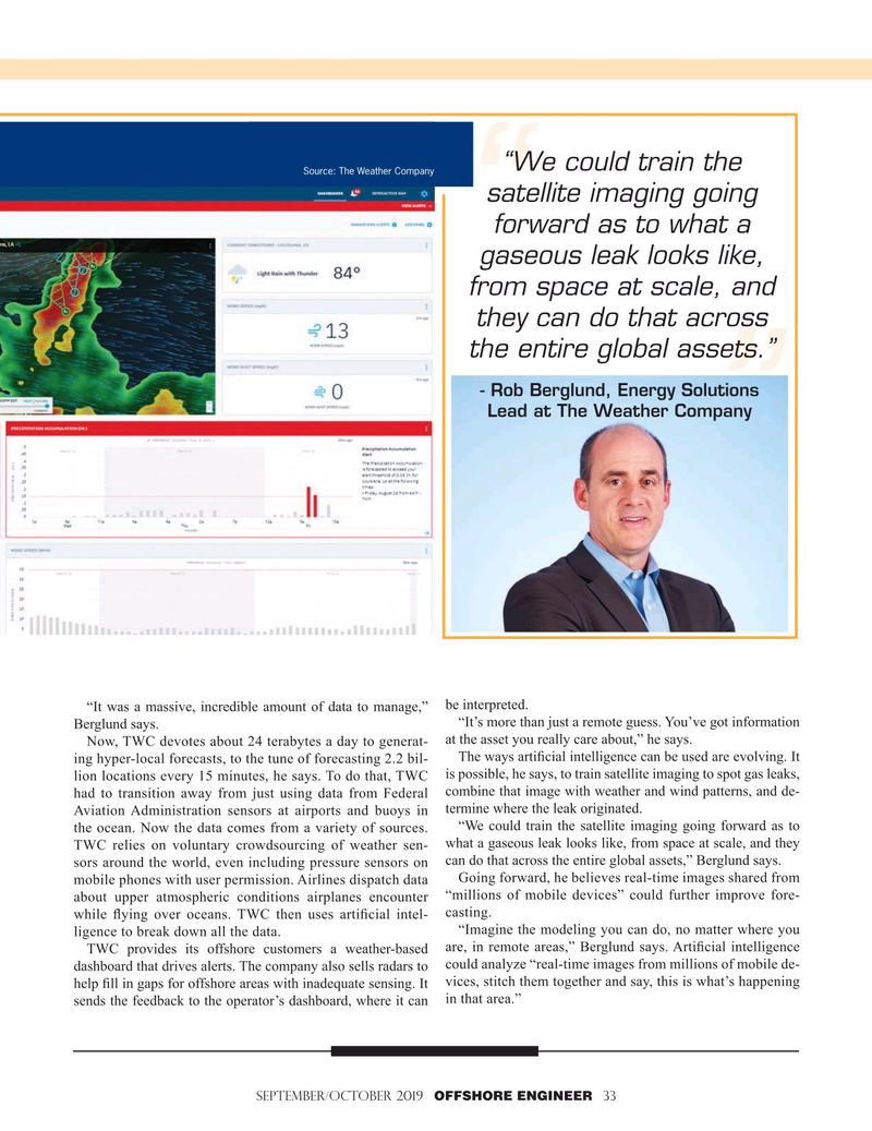 Offshore Engineer Magazine, page 33,  Sep 2019