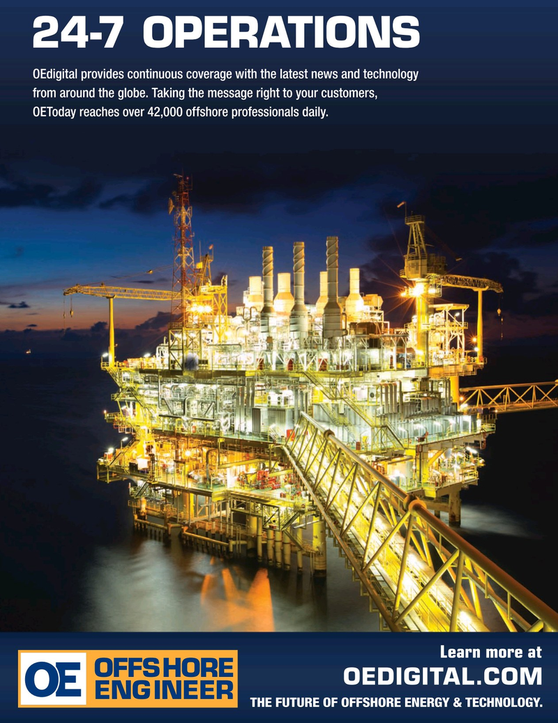 Offshore Engineer Magazine, page 59,  Sep 2019