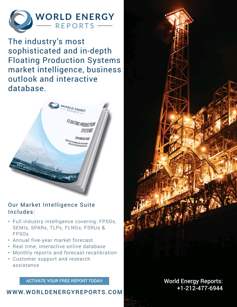 Offshore Engineer Magazine, page 3rd Cover,  Sep 2019