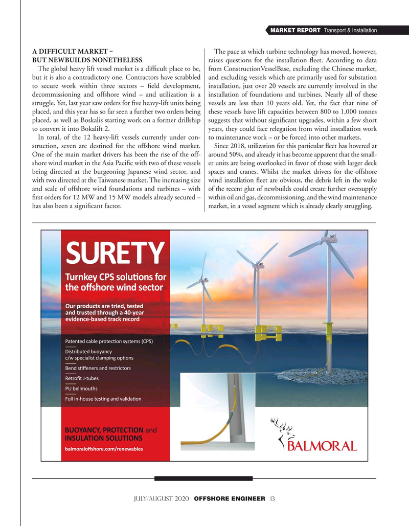 Offshore Engineer Magazine, page 13,  Jul 2020