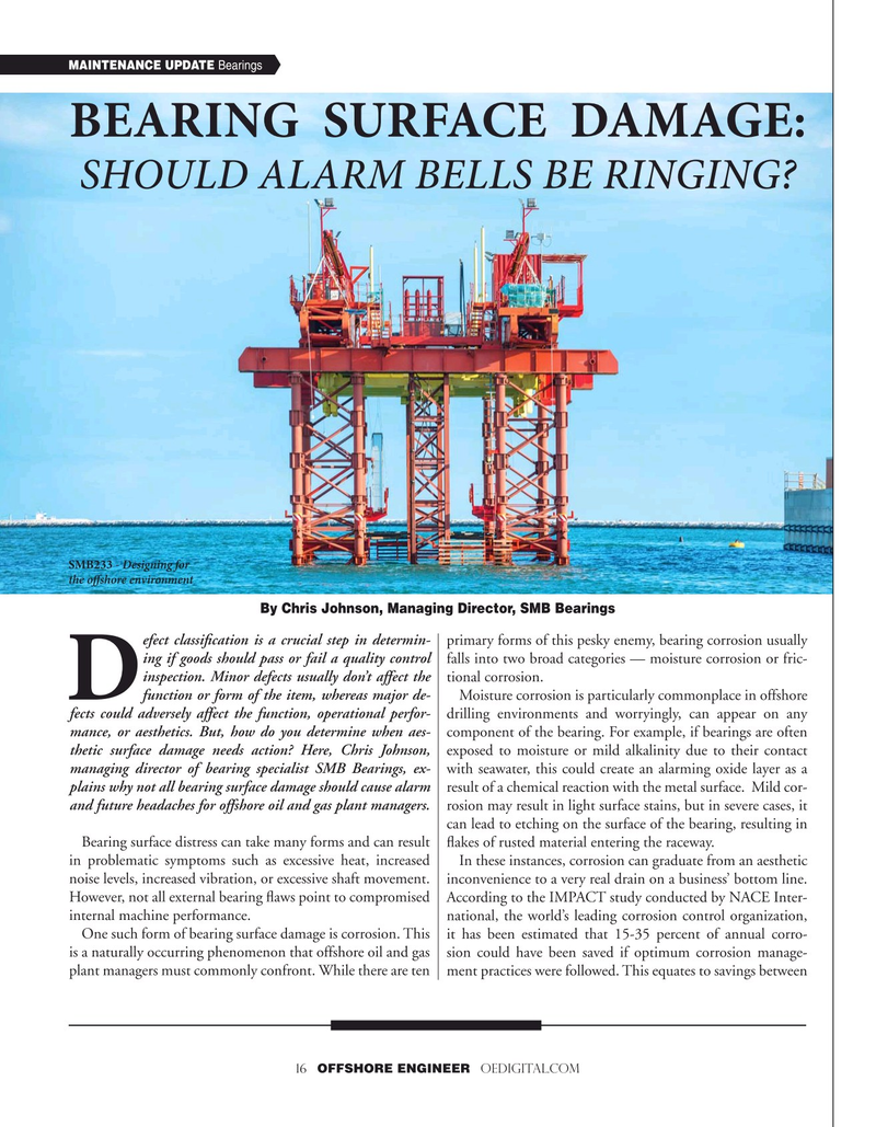 Offshore Engineer Magazine, page 16,  Jul 2020