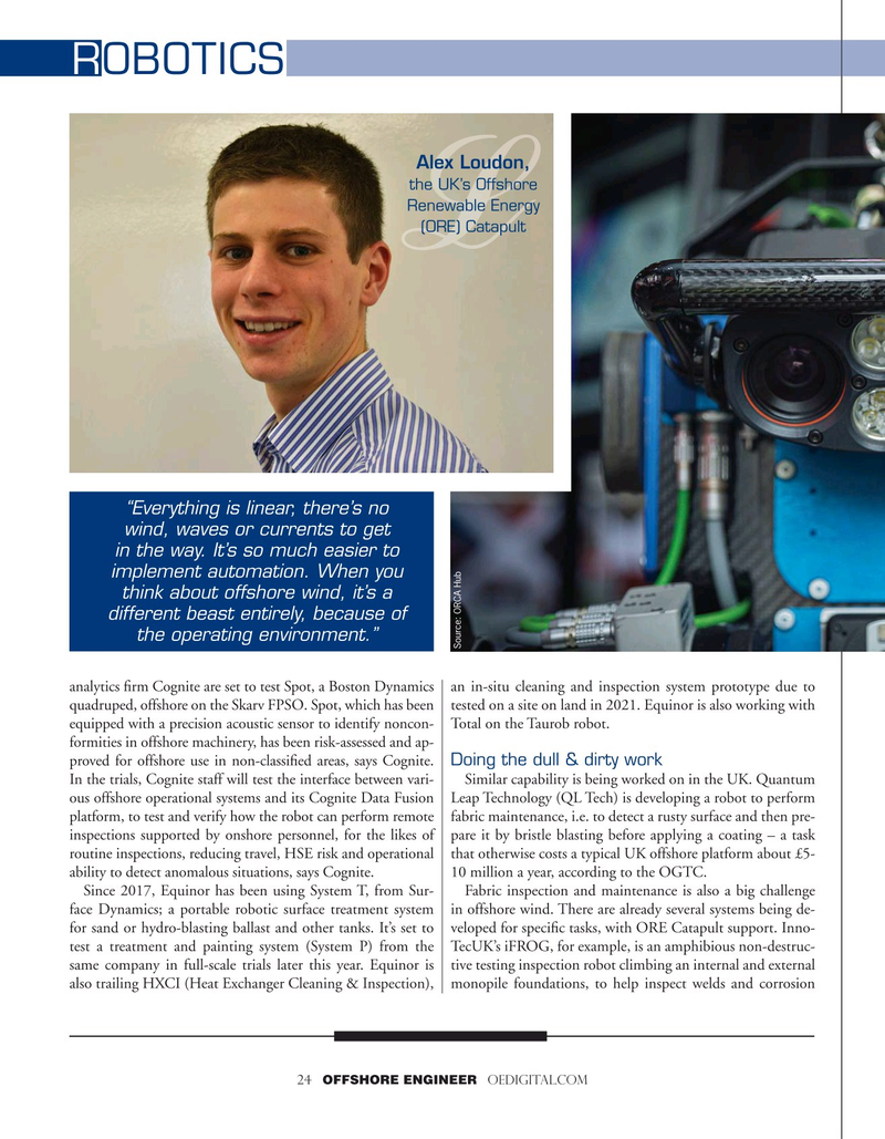 Offshore Engineer Magazine, page 24,  Jul 2020