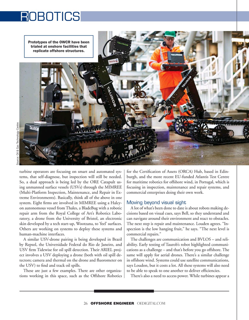 Offshore Engineer Magazine, page 26,  Jul 2020