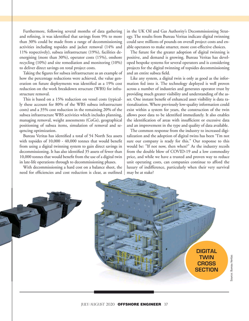 Offshore Engineer Magazine, page 37,  Jul 2020