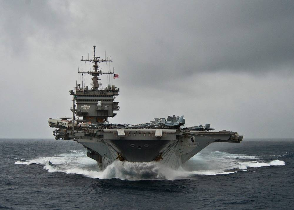 File USS Enterprise: Photo credit USN
