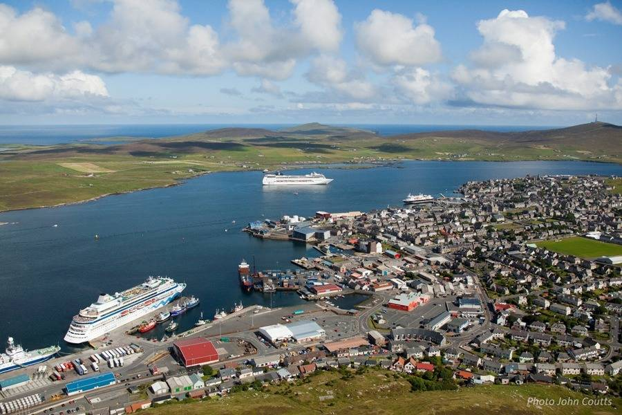 File Lerwick Harbour: Photo credit Lerwick Port Authority