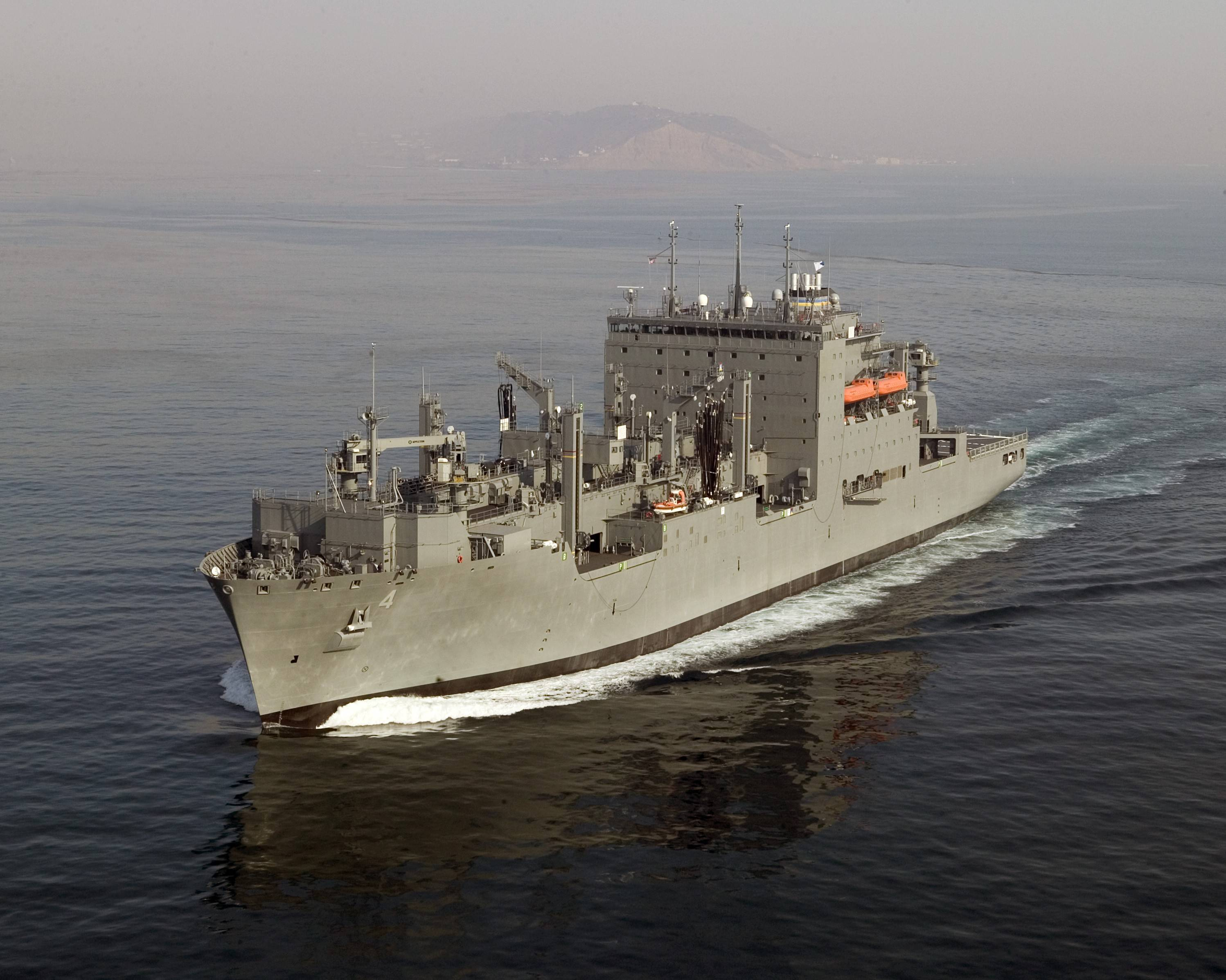 USNS Fleet vessel (file photo)