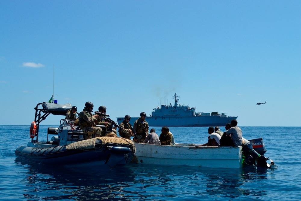 Pirate Suspects Captured: Photo credit EUNAVFOR