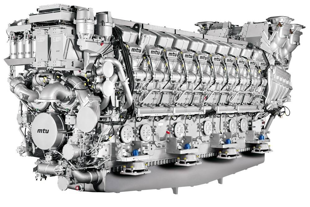 MTU_20V8000M71L Engine: Photo credit MTU