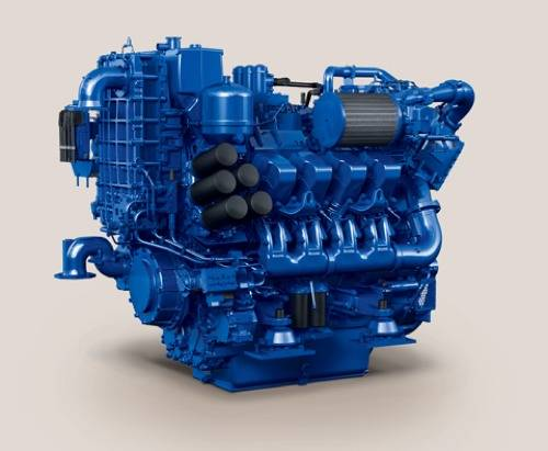 File MTU Series 4000 Engine: Photo credit Tognum