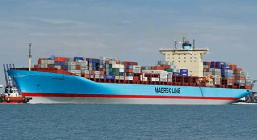 File US-flagged Maersk Line Ship: Photo credit Maesrk Line