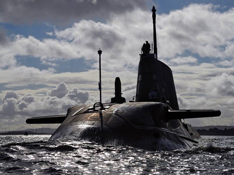 HMS Ambush: Photo credit MOD