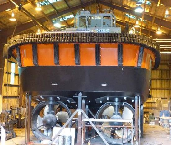 File Kootenay Under Construction: Photo credit Samson Tug Boats