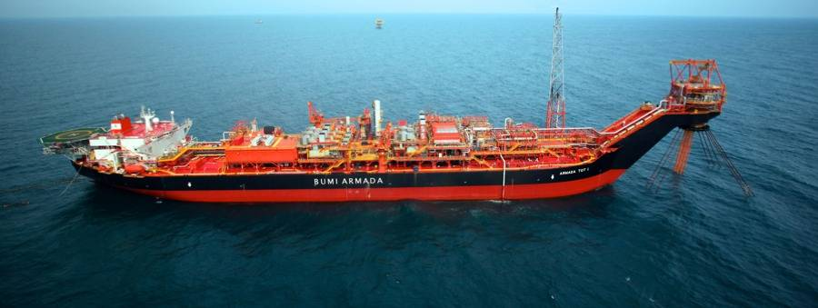 Bhumi Armardi FPSO: Photo courtesy of Bumi Armada