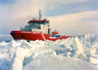 Arctech Icebreaker: Photo courtesy of Arctech Helsinki Shipyard