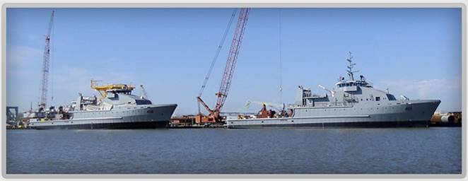 File Iraq Navy OSV1 & 2: Photo credit RiverHawk Fast Sea Frames