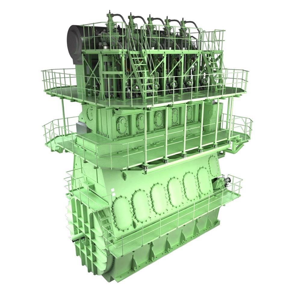 File ME-GI dual-fuel engine: Image credit MAN