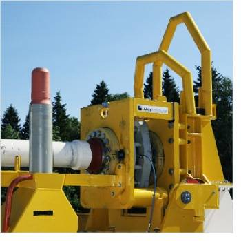 Subsea Tie-in Connector: Photo credit Aker Solutions