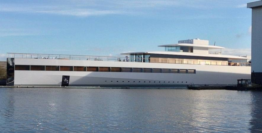 Megayacht Venus: Photo courtesy of Philippe Starck