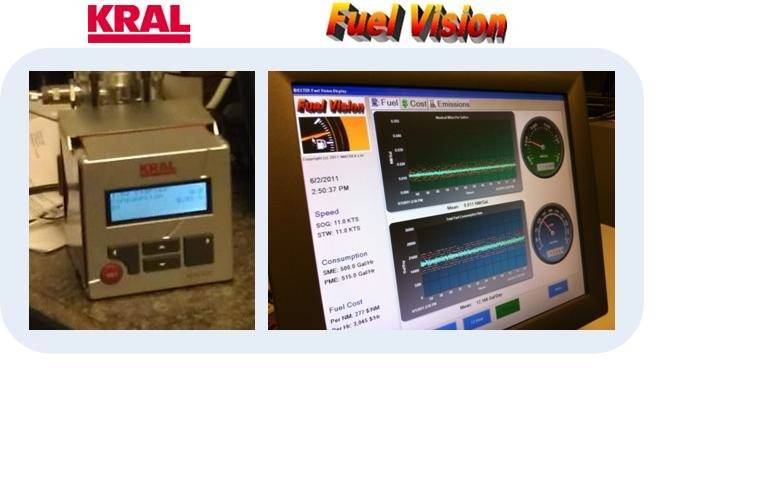 Kral & Fuel Vision Monitors