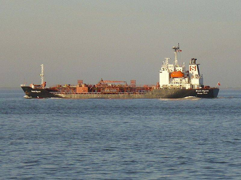 A Stolt Neilsen Chemical Tanker: Photo credit Wiki CCL byjTvabutzku