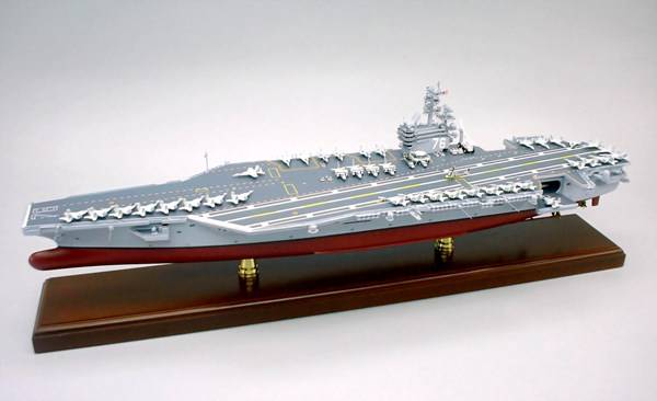Model Aircraft Carrier: Photo credit SD Model Makers