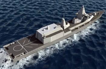 Type 26 Global Combat Ship: Photo credit MOD