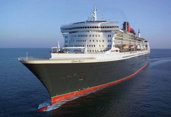 Queen Mary 2: Photo credit ADPC