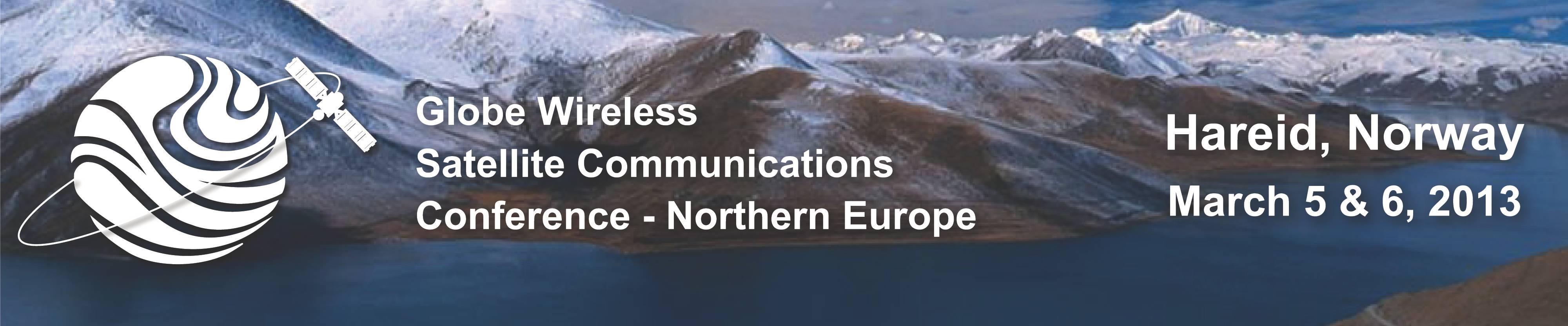 Globe Wireless Satellite Communications Conference - Northern Europe Banner.jpg