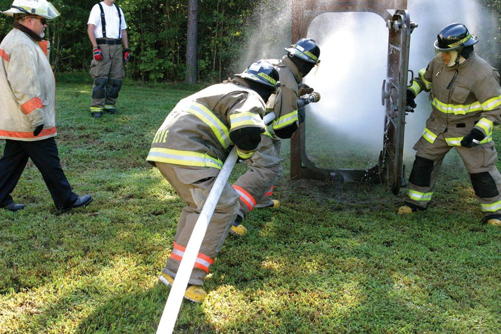 The Virginia-based Chesapeake Marine Training Institute developed its basic firefighting course - which includes both classroom and practical exercises - for mariners to meet U.S. Coast Guard and International Maritime Organization training requirements.