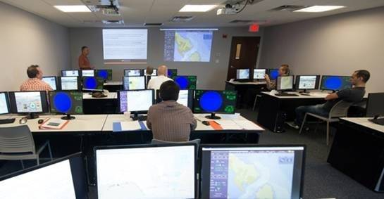 File ECDIS Training in Progress: Photo credit Resolve Maritime Academy