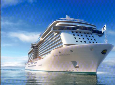 Royal Princess: Image credit Princess Cruises