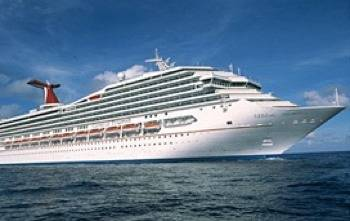 Carnival Triumph: Photo credit Carnival