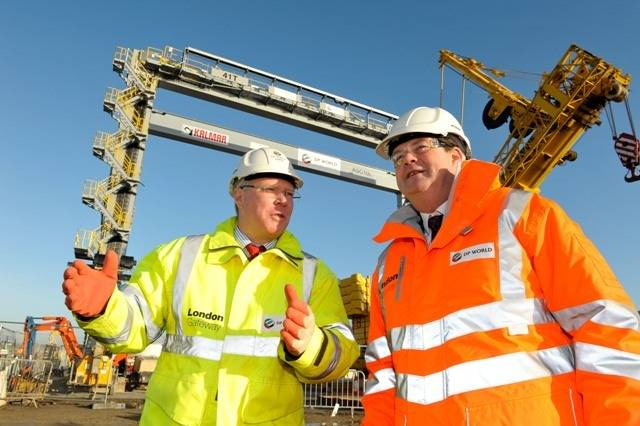 London Gateway Project Tour: Photo credit London Gateway
