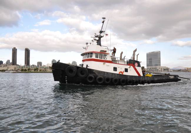 Tugboat Northern Mariner: Photo credit Pacific Tugboat Service