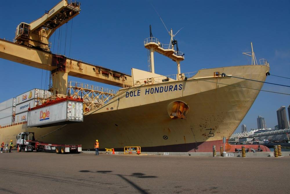 File Dole Ship at Terminal: Photo credit Port of San Diego